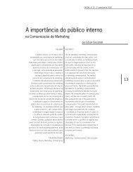 A importância do público interno - Faap