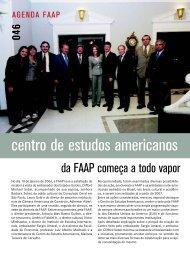 centro de estudos americanos - Faap