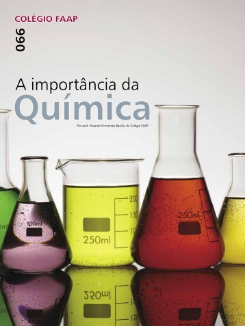 A importância da Química - Faap