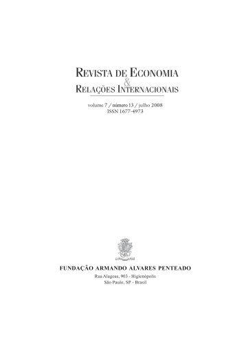 Revista Economia n. 13.pmd - Faap