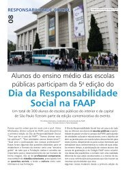 Dia da Responsabilidade Social na FAAP