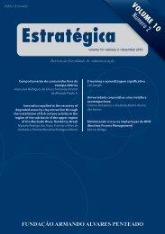 Revista Estratégica vol.10 - Faap