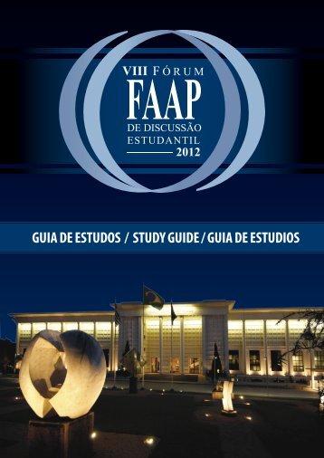 GUIA DE ESTUDOS / STUDY GUIDE / GUIA DE ESTUDIOS - Faap