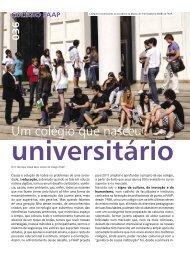 Um colégio que nasceu universitário - Faap