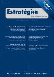 Revista Estratégica vol.11 - Faap