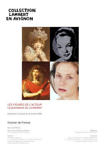LES FIGURES DE L'ACTEUR Le paradoxe du comédien - FABA ...
