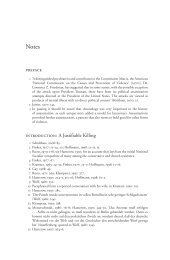 preface introduction: A Justifiable Killing - Faber and Faber