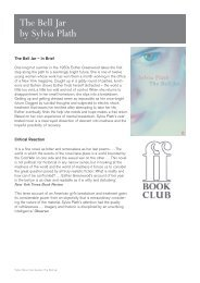 the bell jar - Faber and Faber