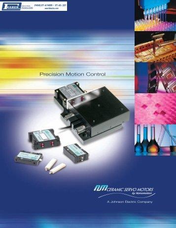 Nanomotion Ceramic Servo Motors Full Catalog - Faberinc.com