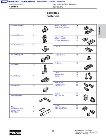 Catalog 1816-1 US Fasteners - Faber Industrial Technologies