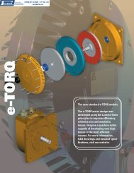 Bodine Electric e-TORQ Brushless Servomotors - Faber Industrial ...