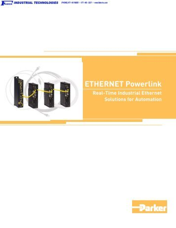 ETHERNET Powerlink Real-Time Industrial Ethernet Solutions for ...