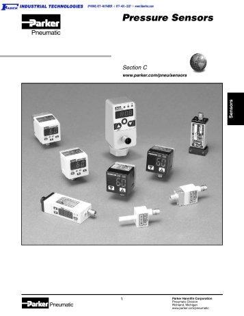 0802-3 Pressure Sensors - Faber Industrial Technologies