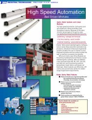 Gantry Robots Systems and Linear Modules - Faberinc.com