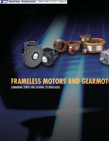 frameless motors and gearmoto - Faberinc.com