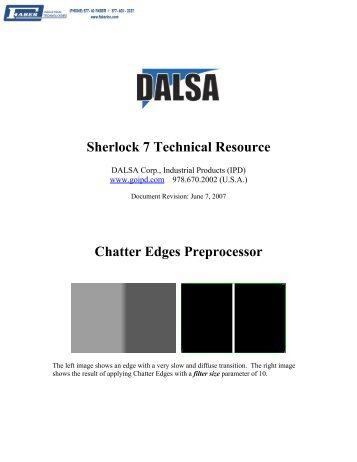 Chatter Edges - Faber Industrial Technologies