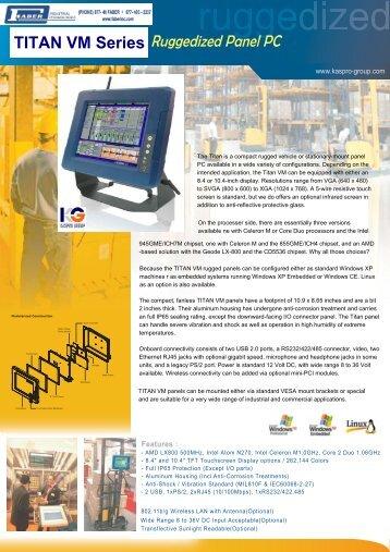 Kaspro Titan-84VM Series - Faber Industrial Technologies