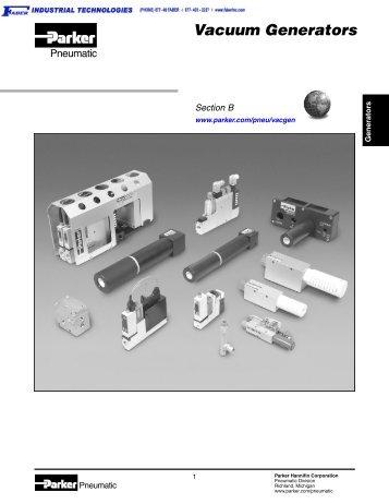 0802-3 Vacuum Generators - Faber Industrial Technologies