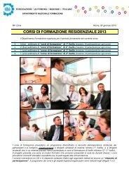 Corsi di formazione residenziale Primavera 2013 - Fabi