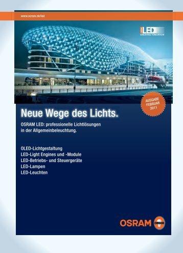 Osram LED Produkte-Katalog - Fabotech Handels AG