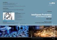 Intelligente Produktion - Fabrik der Zukunft