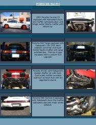 PORSCHE 964-911 - Fabspeed
