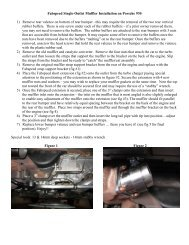 Fabspeed 930T Single Outlet Instructions (PDF file)
