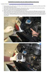 996 MAXFLO Competition style Air Intake Installation ... - Fabspeed