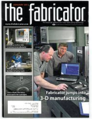 Fabspeed Featured in The Fabricator