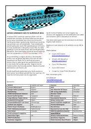 JATECH GRONICO HCD F2 SUPERCUP 2011 - FAC autocross