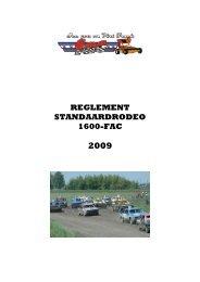 reglementen Standaard 1600-2009-1 - FAC