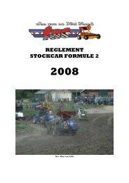 Reglementen 2008 - FAC autocross