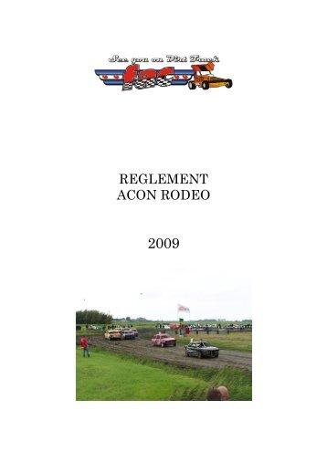 REGLEMENT ACON RODEO - FAC autocross