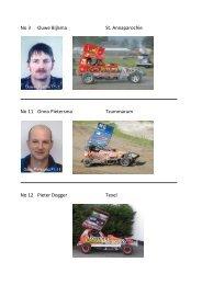 Boekje Stockcar coureurs - FAC autocross