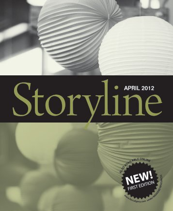 Storyline - April 2012 Edition - First Alliance Church