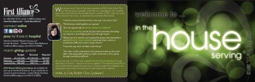 1. - First Alliance Church
