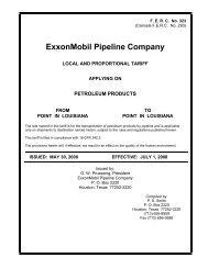 petroleum products - ExxonMobil
