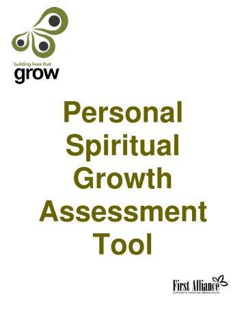 personal spiritual growth assessment