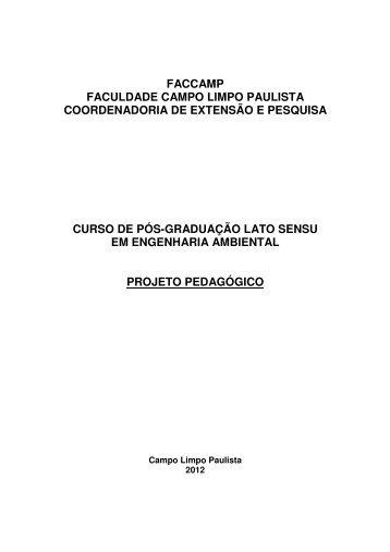 Projeto - Faccamp