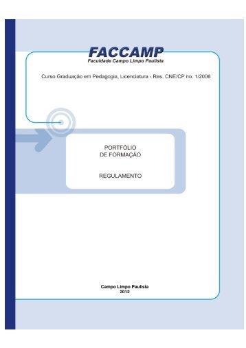 Campo Limpo Paulista 2012 - Faccamp