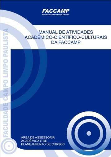 Manual do TCC - Faccamp