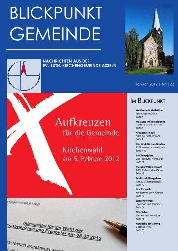 Blickpunkt Gemeinde Nr. 122 - Kirchengemeinde Asseln