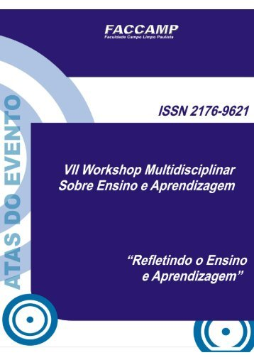 Revista do WEA´2010/2011 - Faccamp