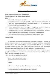 Relatório Visita Técnica Itú e Salto Juliano Marques - Faccamp