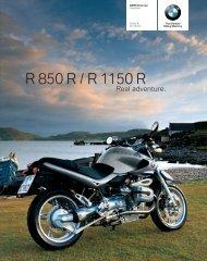R 850 R / R 1150 R - BMW Motorrad Deutschland