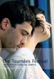 The 2009/10 Tournées Festival Book - FACE   French American ...