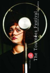 The 2008/09 Tournées Festival Book - FACE   French American ...