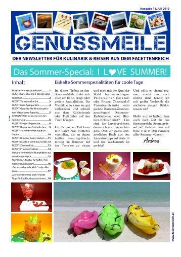 GENUSSMEILE 11 - im Facettenreich