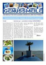Sommerleichte Salate & Erfrischungen - im Facettenreich