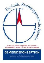 Gemeindekonzeption - Kirchengemeinde Asseln